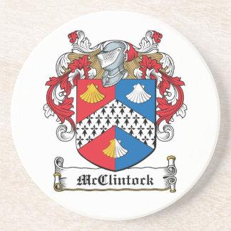 Escudo de la familia de McClintock Posavasos Manualidades