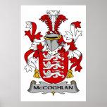 Escudo de la familia de McCoghlan Impresiones
