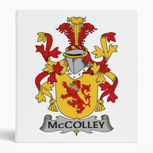 """Escudo de la familia de McColley Carpeta 1"""""""