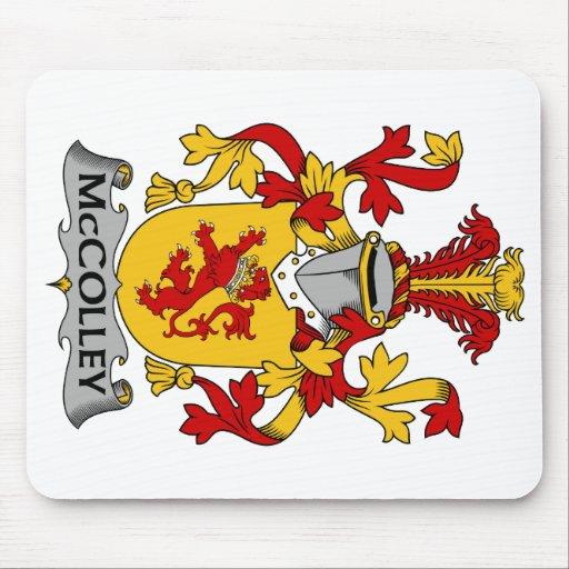 Escudo de la familia de McColley Mouse Pad