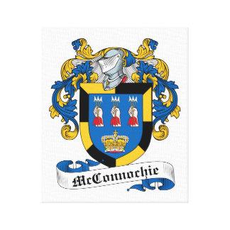 Escudo de la familia de McConnochie Lona Estirada Galerias