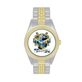Escudo de la familia de McConnochie Relojes De Pulsera