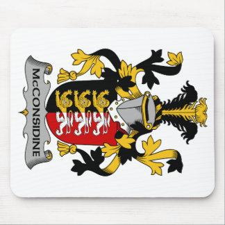 Escudo de la familia de McConsidine Tapete De Ratón