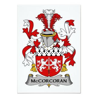 Escudo de la familia de McCorcoran