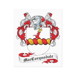 Escudo de la familia de McCorquodale Impresion En Lona