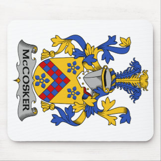 Escudo de la familia de McCosker Tapetes De Ratón