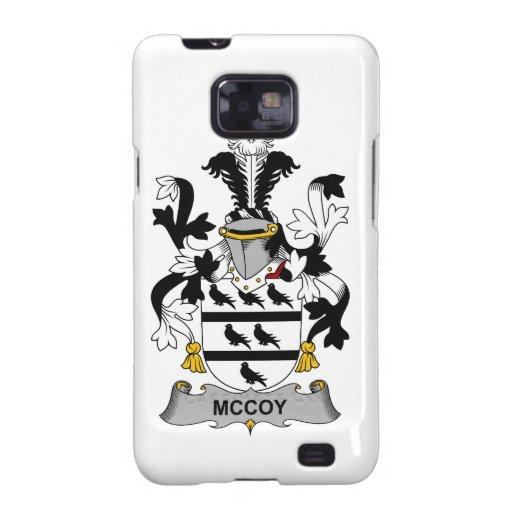 Escudo de la familia de McCoy Galaxy S2 Fundas