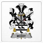 Escudo de la familia de McCoy Reloj