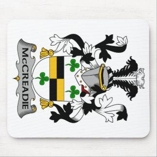 Escudo de la familia de McCreadie Alfombrilla De Ratones