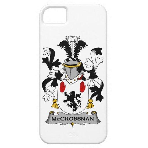 Escudo de la familia de McCrossan iPhone 5 Funda