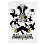 Escudo de la familia de McCullen Tarjetón