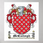 Escudo de la familia de McCullogh Impresiones