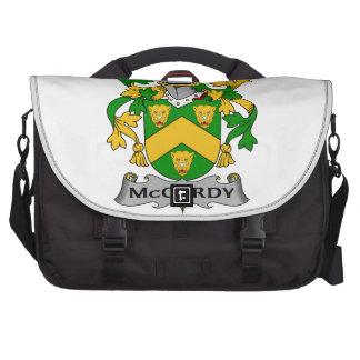Escudo de la familia de McCurdy Bolsas De Portátil