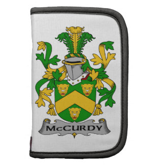 Escudo de la familia de McCurdy Planificador