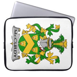 Escudo de la familia de McCurdy Fundas Portátiles