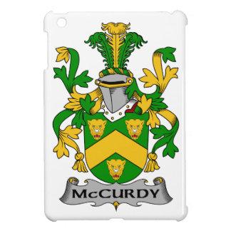 Escudo de la familia de McCurdy iPad Mini Cárcasas