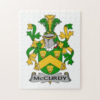 Escudo de la familia de McCurdy Rompecabezas