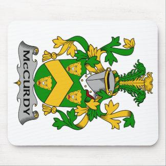 Escudo de la familia de McCurdy Alfombrilla De Ratón