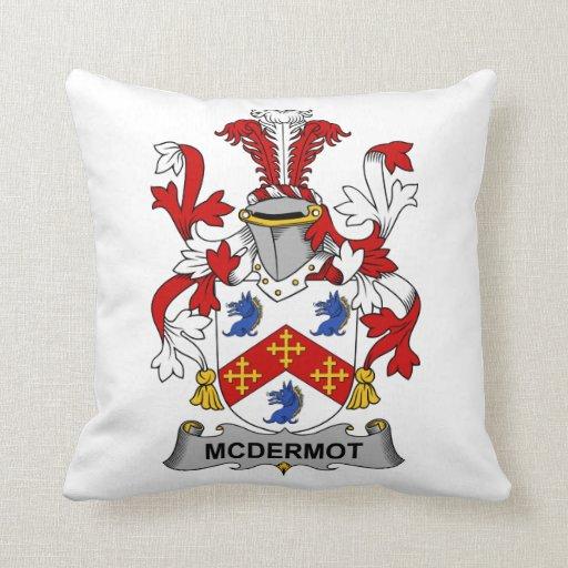 Escudo de la familia de McDermot Cojin