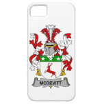 Escudo de la familia de McDevitt iPhone 5 Case-Mate Protector