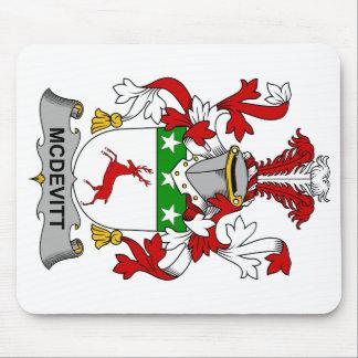 Escudo de la familia de McDevitt Alfombrilla De Raton