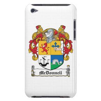 Escudo de la familia de McDonnell iPod Touch Protectores