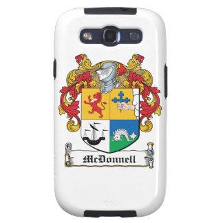 Escudo de la familia de McDonnell Galaxy S3 Cárcasas