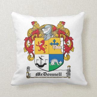 Escudo de la familia de McDonnell Cojin