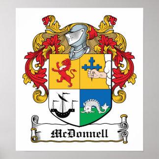 Escudo de la familia de McDonnell Impresiones
