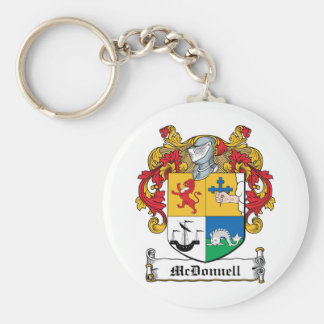 Escudo de la familia de McDonnell Llaveros Personalizados