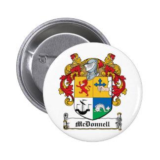 Escudo de la familia de McDonnell Pins