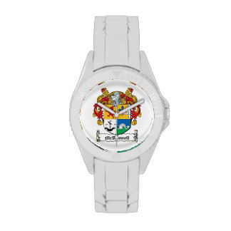 Escudo de la familia de McDonnell Reloj De Mano
