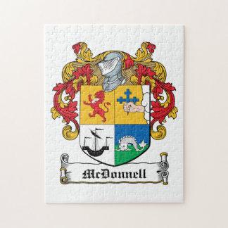 Escudo de la familia de McDonnell Rompecabeza