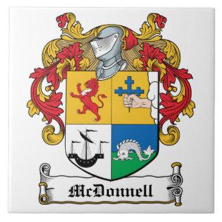 Escudo de la familia de McDonnell Azulejos Cerámicos