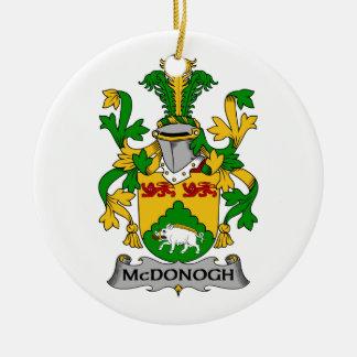 Escudo de la familia de McDonogh Ornamentos De Reyes Magos