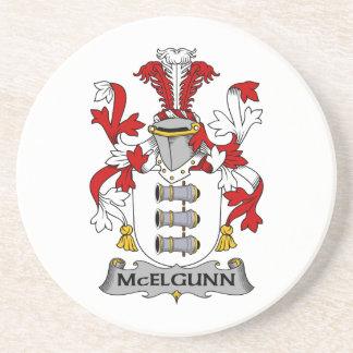 Escudo de la familia de McElgunn Posavasos Diseño