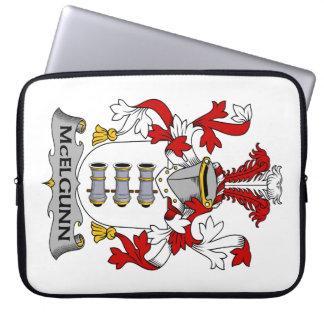 Escudo de la familia de McElgunn Fundas Ordendadores
