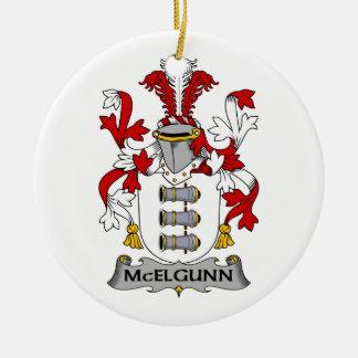 Escudo de la familia de McElgunn Ornato