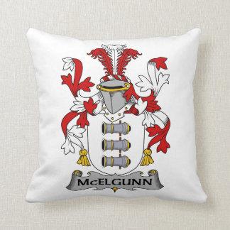 Escudo de la familia de McElgunn Almohadas