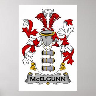 Escudo de la familia de McElgunn Impresiones
