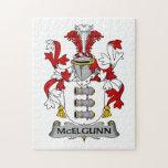 Escudo de la familia de McElgunn Puzzle
