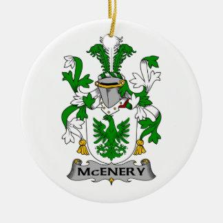 Escudo de la familia de McEnery Adorno