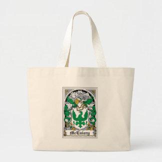 Escudo de la familia de McEniery Bolsa De Mano
