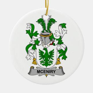 Escudo de la familia de McEniry Ornatos