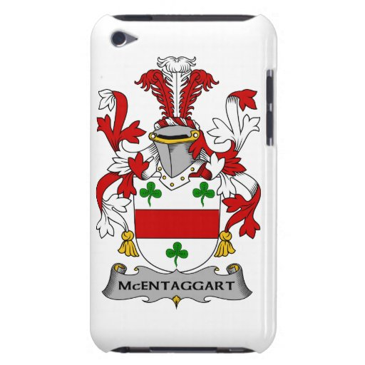 Escudo de la familia de McEntaggart iPod Case-Mate Coberturas