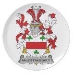 Escudo de la familia de McEntaggart Platos
