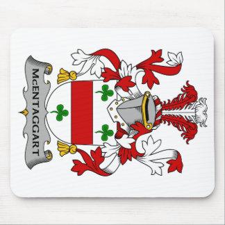 Escudo de la familia de McEntaggart Alfombrillas De Ratón
