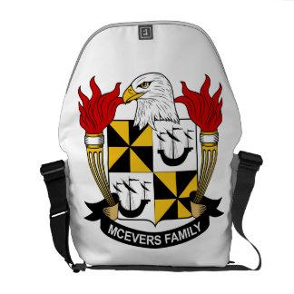 Escudo de la familia de McEvers Bolsa De Mensajería