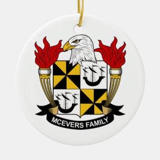 Escudo de la familia de McEvers Ornamento De Reyes Magos