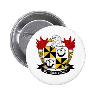 Escudo de la familia de McEvers Pins